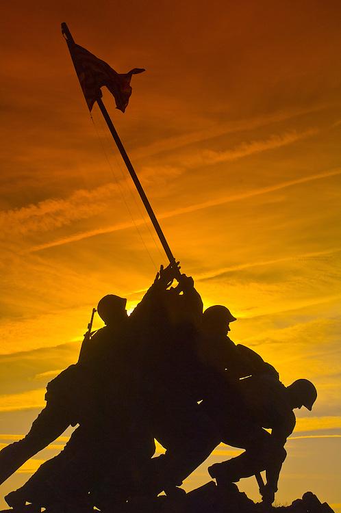 The Iwo Jima Memorial (Arlington, VA)  Washington D.C., U.S.A.