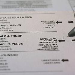 Voting - 2016 Ballot