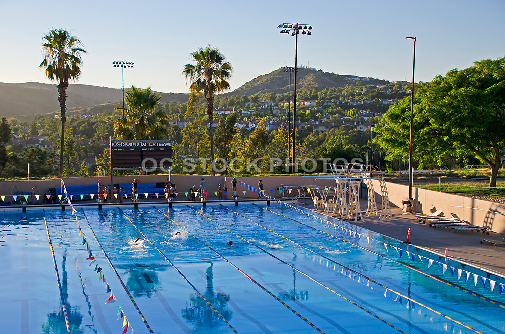 Soka University Swimming Pool
