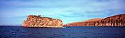 View of outlying island in Ensenada Grande, Isla Partida