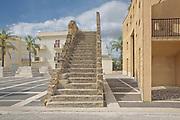 Gibellina: dettagli del &quot; il Sistema delle piazze (di Laura Thermes e Franco Purini)&quot;.<br /> new Gibellina: the main square called &quot; square system&quot; (by Laura Thermes e Franco Purini), details