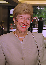 DAME BARBARA MILLS Director of Public Prosecutions, at a luncheon in London on 12th October 1998.MKR 61