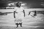 As a young child Glenys Williams used to speak Putijarra language. She now speaks Mardu language. In 2004, there were estimated to be four speakers of the Putijarra language. It is a highly endangered language.<br /> <br /> &quot;I was born on 9 November 1957 at the Wiluna hospital. I am from the Panaka skin group. My totem is the rabbit. I have two brothers and four sisters. My mother, Sunshine Williams comes from Mangkili in the Ngaanyatjarra land (Little Sandy Desert) and my father, Willy Williams was born on the Canning stock route.&rdquo;<br /> &quot;When I was young, I lived at Lorna Glen station, 150km north east of Wiluna. At that time, I did not learn how to get food from the bush by my parents. I feel I grew up as a &lsquo;white&rsquo; person as I was never taught the traditional Aboriginal customs. At eight or nine years old, I was sent to the Wiluna mission. Old Pastor Vaughan went around and would pick the children from parents who wanted their children to be going to the mission.&rdquo;<br /> &ldquo;My parents were happy for me to go to the mission so I could go to school. I stayed at the mission until I was 11 or 12 years old. I grew up with my grandparents, Amy and Paddy Anderson. I was not seeing much of my parents. My grandparents camped alongside the mission. They were living in iron huts. My grandparents worked at the mission as gardeners. Old Pastor Vaughan had planted veggies and my grand-parents were caretakers for the gardens.&quot; <br /> Extract from recorded interview with Glenys Williams in Wiluna on 10 March and 11 May 2016