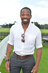 CHIKÉ OKONKWO at The Royal Salute Coronation Cup Polo held at Guards Polo Club,  Smiths Lawn, Windsor Great Park, Egham on 23rd July 2016.