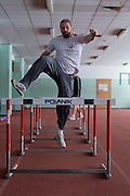 Tomasz Majewski while his training session at Sport's Academy (AWF) in Warsaw.<br /> Tomasz Majewski is a Polish shot putter and a double Olympic gold medalist (Beijing 2008 and London 2012).<br /> <br /> Poland, Warsaw, January 28, 2014<br /> <br /> Picture also available in RAW (NEF) or TIFF format on special request.<br /> <br /> For editorial use only. Any commercial or promotional use requires permission.<br /> <br /> Mandatory credit:<br /> Photo by &copy; Adam Nurkiewicz / Mediasport