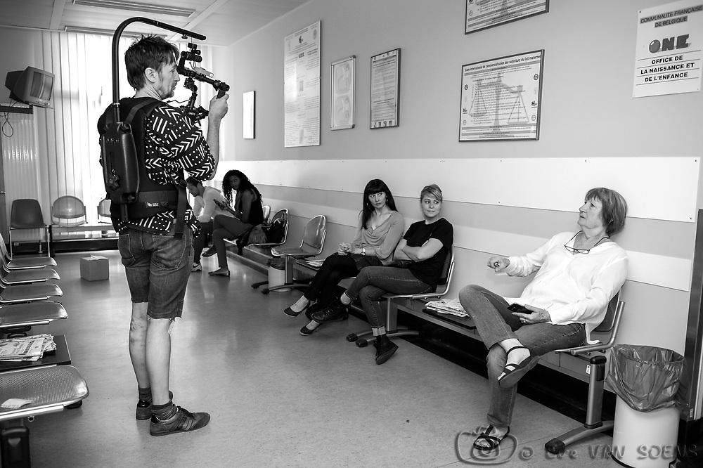 Tournage du film de Kris CARLIER
