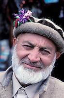 Chitrali man, Chitral area, Khyber Pakhtunkhwa, Pakistan // Pakistan, Khyber Pakhtunkhwa, Chitral, homme chitrali