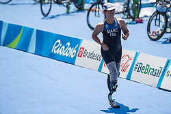 Elise MARC, FRA, Para-Triathlon - PT4 at Rio 2016 Paralympic Games, Brazil