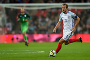 England forward Harry Kane during the FIFA World Cup Qualifier match between England and Slovenia at Wembley Stadium, London, England on 5 October 2017. Photo by Martin Cole.