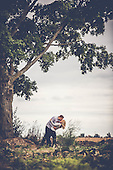 Mallory & David's gorgeous engagement photo session at Roseville Estate
