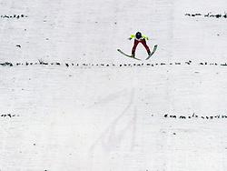 02.02.2014, Energie AG Skisprung Arena, Hinzenbach, AUT, FIS Ski Sprung, FIS Ski Jumping World Cup Ladies, Hinzenbach, Wettkampf, im Bild #45 Daniela Iraschko-Stolz (AUT) // during FIS Ski Jumping World Cup Ladies at the Energie AG Skisprung Arena, Hinzenbach, Austria on 2014/02/02. EXPA Pictures © 2014, PhotoCredit: EXPA/ Reinhard Eisenbauer