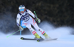 27.01.2018, Lenzerheide, SUI, FIS Weltcup Ski Alpin, Lenzerheide, Riesenslalom, Damen, im Bild Ricarda Haaser (AUT) // Ricarda Haaser of Austria in action during the ladie's Giant Slalom of FIS ski alpine world cup in Lenzerheide, Austria on 2018/01/27. EXPA Pictures © 2018, PhotoCredit: EXPA/ Sammy Minkoff<br /> <br /> *****ATTENTION - OUT of GER*****