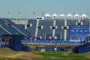 Illustration of grandstand during the practice round of Ryder Cup 2018, at Golf National in Saint-Quentin-en-Yvelines, France, September 26, 2018 - Photo Philippe Millereau / KMSP / ProSportsImages / DPPI