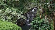 Waterfall, Hanalei,Kauai, Hawaii