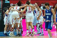 Victoire Serbie - 28.06.2015 - France / Serbie - Finale Championnat d'Europe feminin de Basket ball -Budapest<br /> Photo : Attila Volgyi / Icon Sport