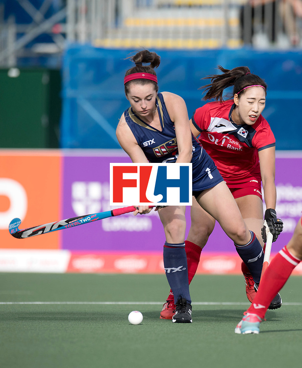 AUCKLAND - Sentinel Hockey World League final women<br /> Match id 10291<br /> USA v KOR (Pool A)<br /> Foto: Erin Matson.<br /> WORLDSPORTPICS COPYRIGHT FRANK UIJLENBROEK