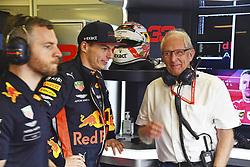 March 16, 2019 - Melbourne, Australia - Motorsports: FIA Formula One World Championship 2019, Grand Prix of Australia, ..#33 Max Verstappen (NLD, Aston Martin Red Bull Racing), Dr. Helmut Marko (AUT, Aston Martin Red Bull Racing) (Credit Image: © Hoch Zwei via ZUMA Wire)