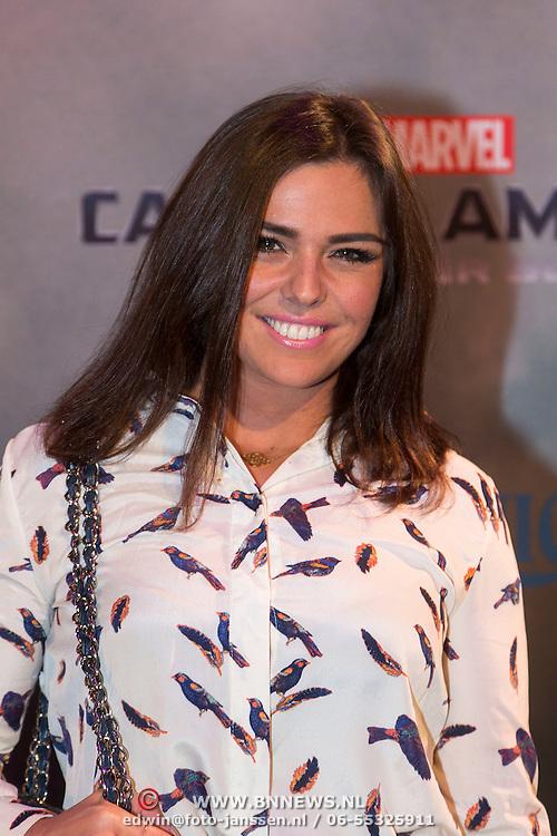 NLD/Amsterdam//20140326 - Filmpremiere Captain America The Winter Soldier, Laura Ponticorvo