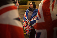 2013 Scotland, Unionist flag demo