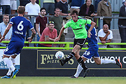 Forest Green Rovers Theo Archibald(18) runs forward during the Pre-Season Friendly match between Forest Green Rovers and Leeds United at the New Lawn, Forest Green, United Kingdom on 17 July 2018. Picture by Shane Healey.