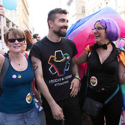 Bologna, Italy, July 1, 2017. Riccardo Zucaro, 29 years old, lives in Turin. <br /><br />Bologna, Italia, 1 Luglio 2017. Riccardo Zucaro, 29 anni, vive a Torino