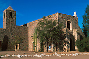 MEXICO, BAJA CALIFORNIA Mission Santa Rosalia de Mulege