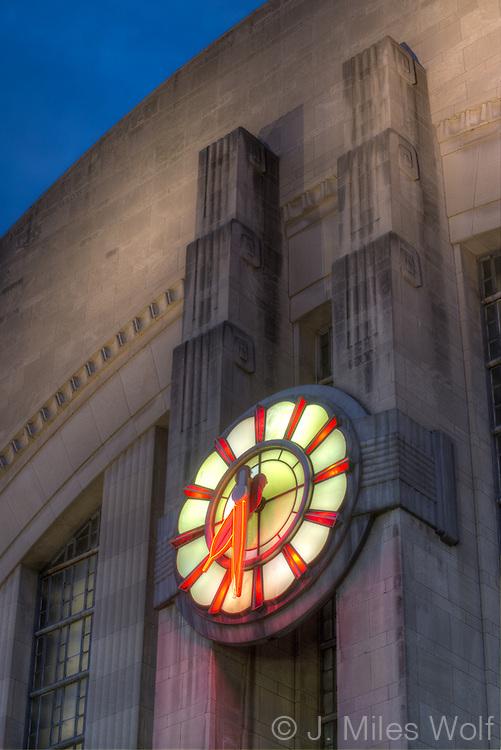 Union Terminal Building in Cincinnati