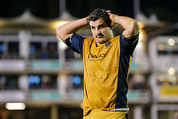 Mark Sorenson of Bristol Rugby looks dejected after Bath Rugby win 16-9 - Rogan Thomson/JMP - 18/11/2016 - RUGBY UNION - Recreation Ground - Bath, England - Bath Rugby v Bristol Rugby - Aviva Premiership.
