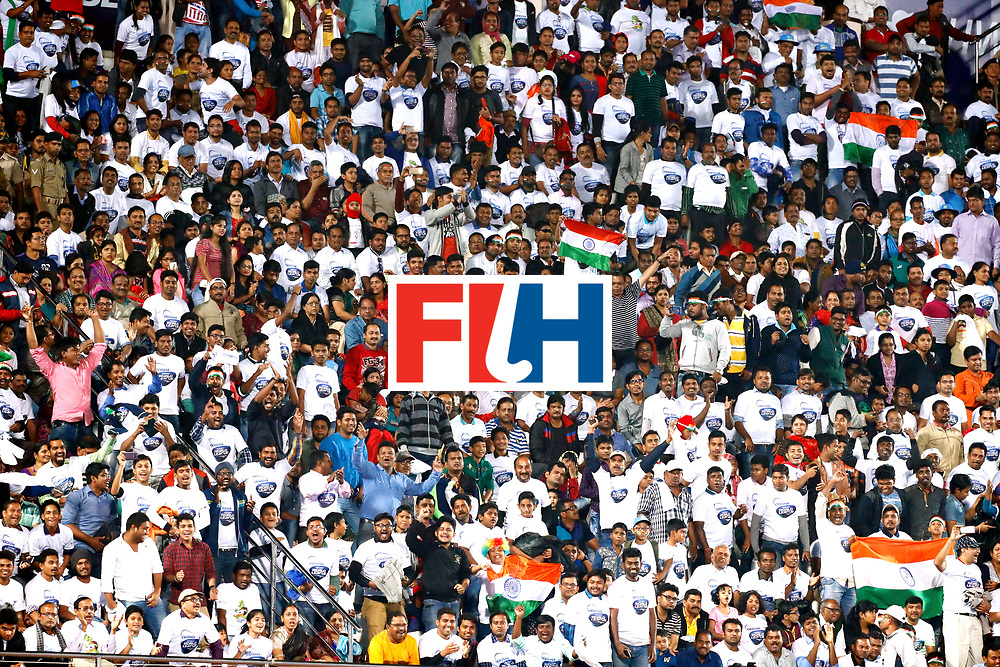 Odisha Men's Hockey World League Final Bhubaneswar 2017<br /> Match id:21<br /> India v Germany<br /> Foto: Fans<br /> WORLDSPORTPICS COPYRIGHT KOEN SUYK