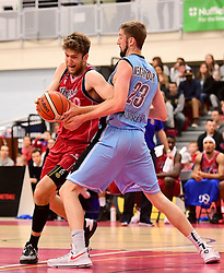 Michael Vigor of Bristol Flyers  - Photo mandatory by-line: Joe Meredith/JMP - 18/11/2016 - BASKETBALL - SGS Wise Arena - Bristol, England - Bristol Flyers v Surrey Scorchers - British Basketball League