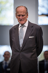 © Licensed to London News Pictures . 14/11/2013 . Manchester , UK . Prince Philip the Duke of Edinburgh . Queen Elizabeth II and the Duke of Edinburgh visit the Coop building at 1 Angel Square , Manchester , this morning ( 14th November 2013 ) . Photo credit : Joel Goodman/LNP