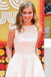 © Licensed to London News Pictures. 19/05/2016.  ANGOURIE RICE attends The Nice Guys UK film premiere. London, UK. Photo credit: Ray Tang/LNP
