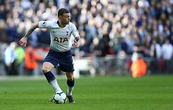 Kieran Trippier of Tottenham Hotspur on the ball - Mandatory by-line: Arron Gent/JMP - 02/03/2019 - FOOTBALL - Wembley Stadium - London, England - Tottenham Hotspur v Arsenal - Premier League