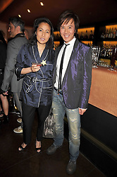 ANDY & PATTI WONG at a party to celebrate the new Stephen Webster store on Mount Street, London W1 followed by a dinner at Maddox, Mill Street, London on 24th June 2009.