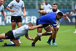 Taulupe Faletau in action, Bath Rugby were allowed to start Stage Two of the Premiership Rugby return to play protocol - Mandatory byline: Patrick Khachfe/JMP - 07966 386802 - 06/08/2020 - RUGBY UNION - The Recreation Ground - Bath, England - Bath Rugby training