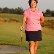 June 08, 2007; The Villages, FL USA..LPGA Hall of Famer Nancy Lopez poses at the Nancy Lopez Legacy Country Club Course...Take 1 (2008-06-11) Portrait ..Photo by Preston Mack