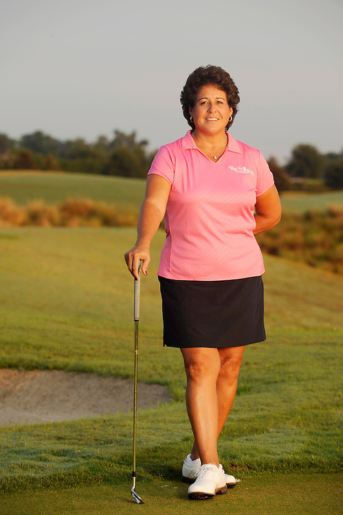 June 08, 2007; The Villages, FL USA..LPGA Hall of Famer Nancy Lopez poses at the Nancy Lopez Legacy Country Club Course...Take 1 (2008-06-11) Portrait ..Photo by Preston Mack