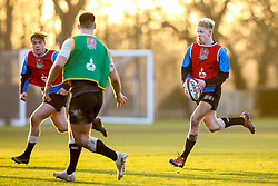 Josh Hodge of England Under 20s - Mandatory by-line: Robbie Stephenson/JMP - 08/01/2019 - RUGBY - Bisham Abbey National Sports Centre - Bisham Village, England - England Under 20s v  - England Under 20s Training