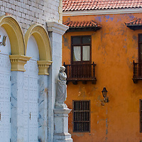 "The architecture of  ""Cartagena de indias"" Colombia"