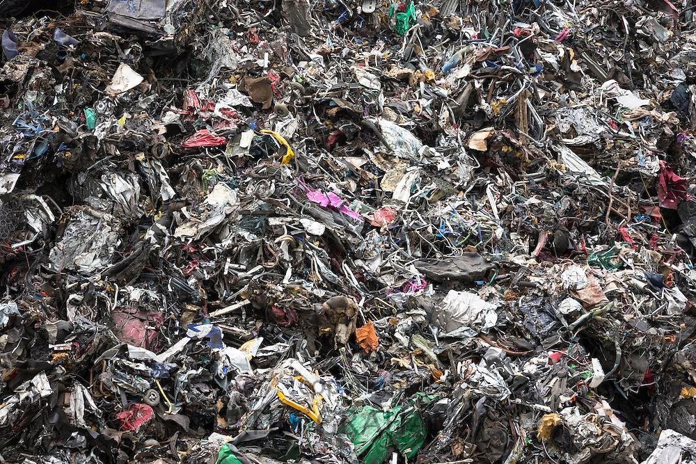 Metal recycling of scrap metal to avoid environmental pollution in England