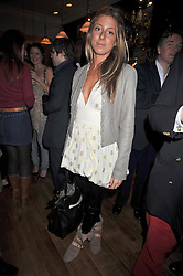 SOPHIA ACKROYD at the opening of the Brompton Bar & Grill, 243 Brompton Road, London SW3 on 11th March 2009.
