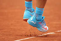 illustration chaussures Rafael NADAL / NIKE  - 28.05.2015 - Jour 5 - Roland Garros 2015<br />