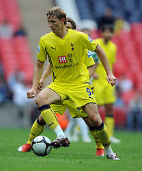 Roman Pavlyuchenko.Tottenham Hotspur 2009/10.Tottenham Hotspur V Celtic (0-2) 26/07/09.The Wembley Cup at Wembley Stadium.