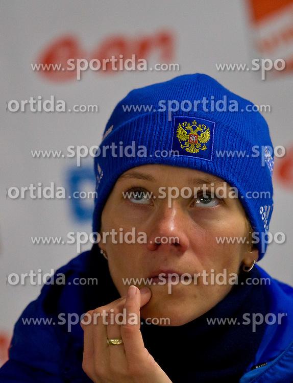 13.01.2011, Chiemgau Arena, GER, IBU Biathlon Worldcup, Ruhpolding, Individual Women, im Bild Olga Zaitseva (RUS) // Olga Zaitseva (RUS) during IBU Biathlon World Cup in Ruhpolding, Germany, EXPA Pictures © 2011, PhotoCredit: EXPA/ J. Feichter