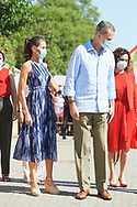 King Felipe VI of Spain, Queen Letizia of Spain visit Poligono Sur (3000 viviendas) and the 'El Esqueleto' Civic Center and the Social Center of the 'Don Bosco Foundation' on June 29, 2020 in Sevilla, Spain  <br /> This trip is part of a royal tour that will take the King Felipe and Queen Letizia through all Spanish Autonomous Communities with the objective of supporting economic, social and cultural activity after the Coronavirus outbreak.