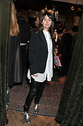TANIA FARES at a reception hosted by Ralph Lauren Double RL and Dexter Fletcher before a private screening of Wild Bill benefitting FilmAid held at RRL 16 Mount Street, London on 26th March 2012.