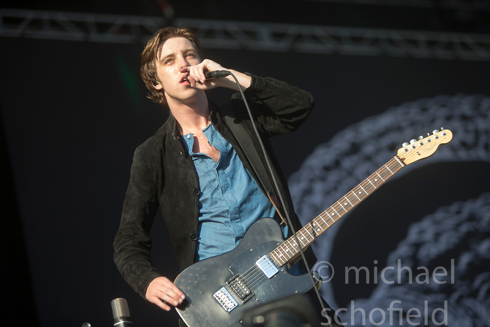Catfish and the Bottlemen plays the main stage. Saturday at TRNSMT music festival, Glasgow Green.
