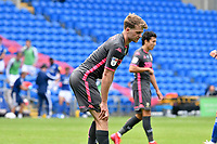 Football - 2019 / 2020 Sky Bet EFL Championship - Cardiff City vs. Leeds United<br /> <br /> Patrick Bamford of Leeds United & other title chasing Leeds players look despondent after the final whistle in a match they lost 2-0, played in an empty stadium duet o Covid 19 emergency powers restrictions, at Cardiff City Stadium.<br /> <br /> COLORSPORT/WINSTON BYNORTH