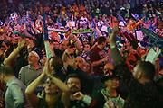 Dart fans during the World Darts Championships 2018 at Alexandra Palace, London, United Kingdom on 19 December 2018.