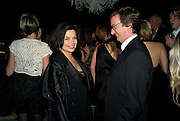 BIANCA JAGGER; THADDEUS ROPAC, Nicky Haslam party for Janet de Bottona nd to celebrate 25 years of his Design Company.  Parkstead House. Roehampton. London. 16 October 2008.  *** Local Caption *** -DO NOT ARCHIVE-© Copyright Photograph by Dafydd Jones. 248 Clapham Rd. London SW9 0PZ. Tel 0207 820 0771. www.dafjones.com.